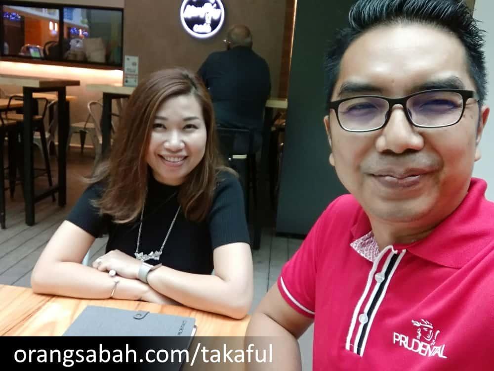 Yvonne Jomiji Sabah Takaful